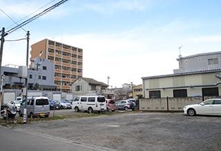 駐車場・病院